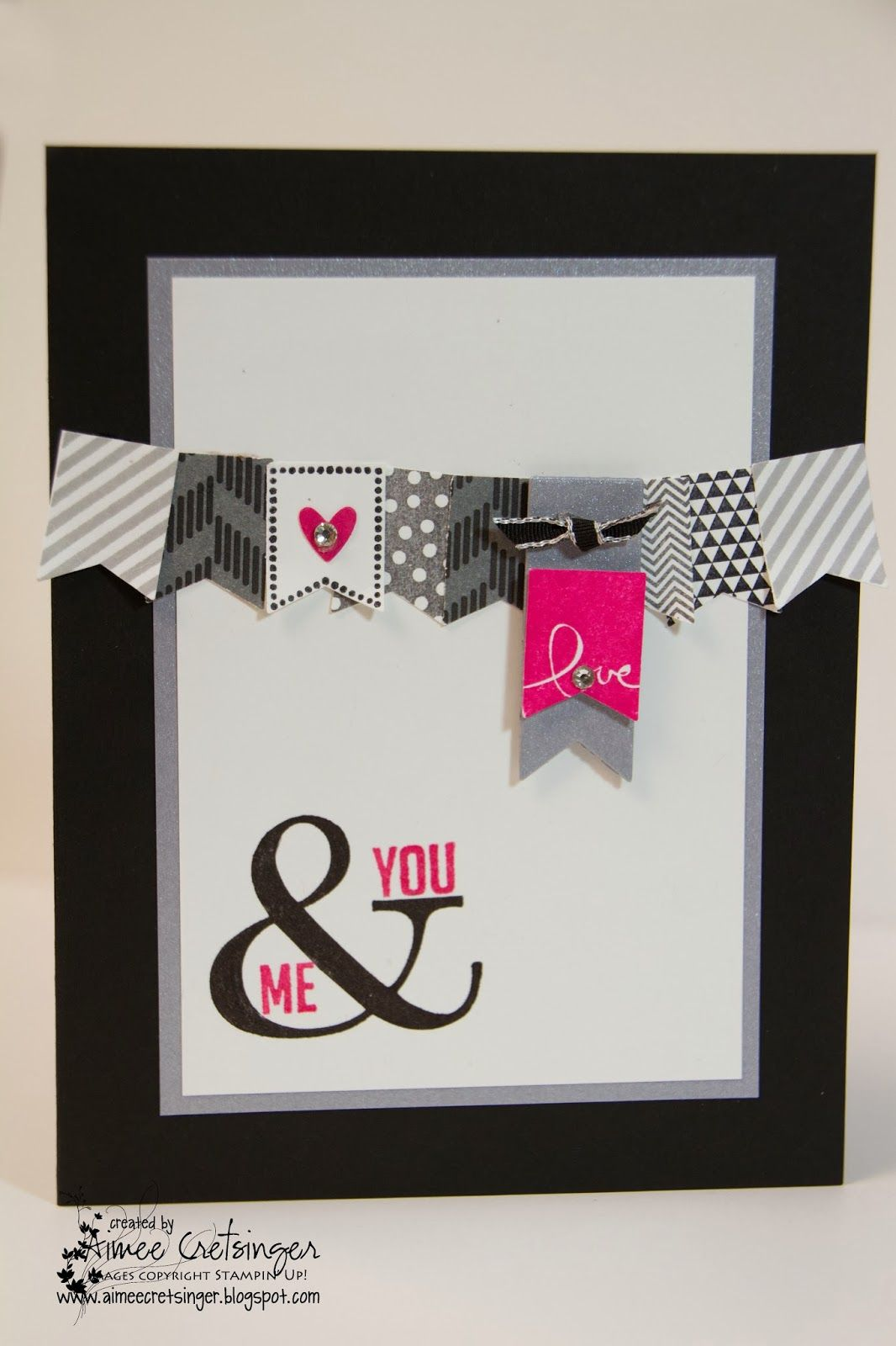 stampin up valentine by aimees creations new - Stampin Up Valentine Card Ideas