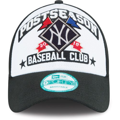 separation shoes 8c6fa e3e83 New York Yankees 2015 Postseason 9FORTY Adjustable Cap by New Era - MLB.com  Shop
