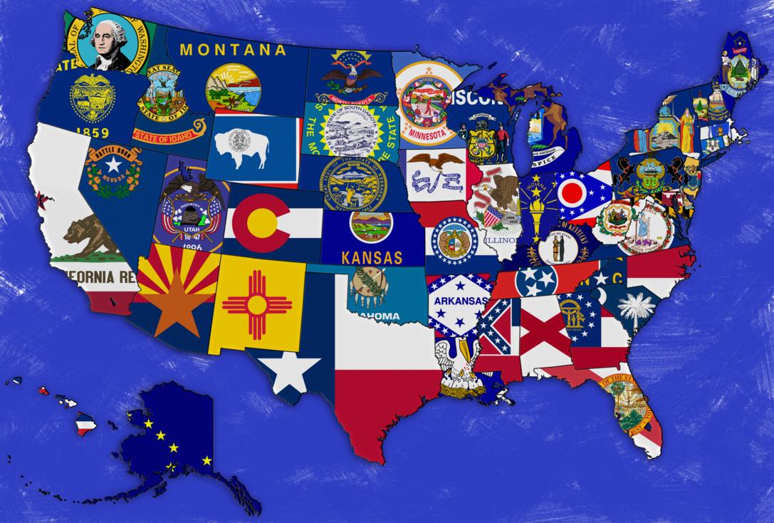 Usa Wallpaper By Jayjaxon Mapa De Estados Unidos Con Imagenes