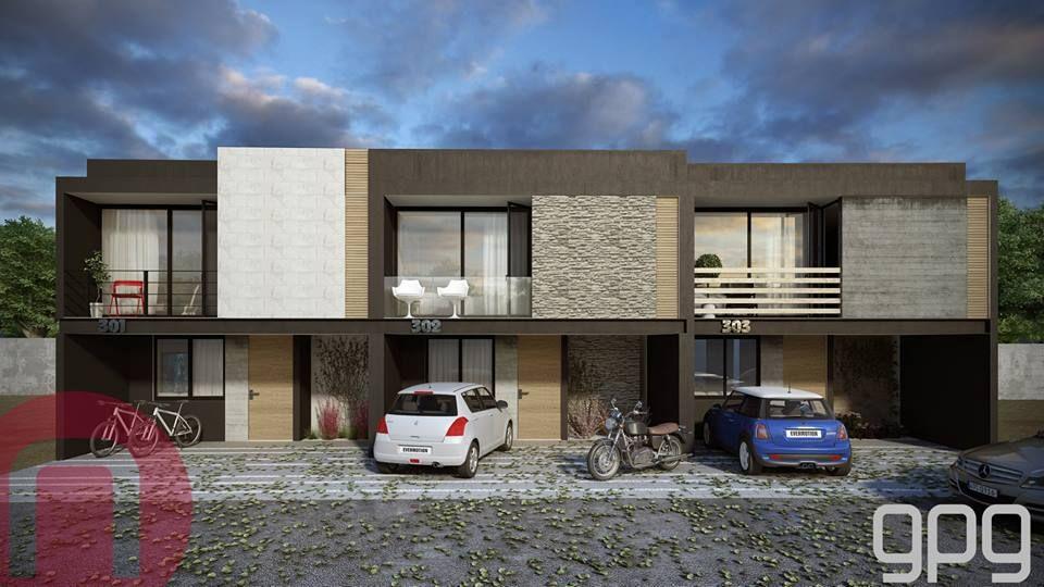 Uno de nuestros proyectos en el complejo residencial El Origen.  #GpgConstructora #GpgStudio #Casa #Arquitectura #Cuarto #Diseño3D #Render #Guadalajara #ElOrigen #Jalisco #México #Proyecto  #Fachada