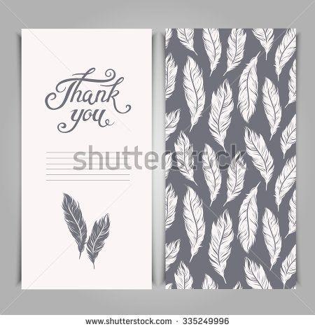 elegant thank you card designs