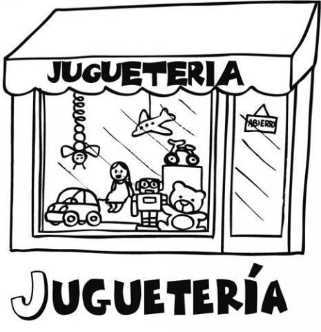 Imagenes de jugueteria para colorear - Imagui | Oficios | Pinterest ...