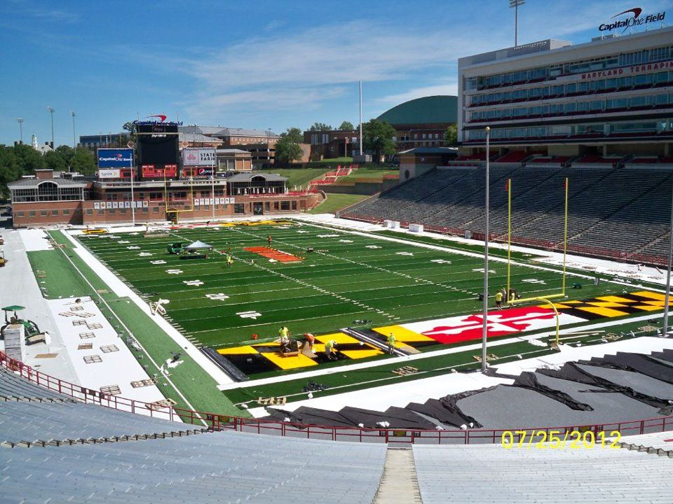 Maryland Football Stadium Google Search Football Stadiums Baseball Stadium Stadium