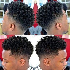 coiffure homme twist