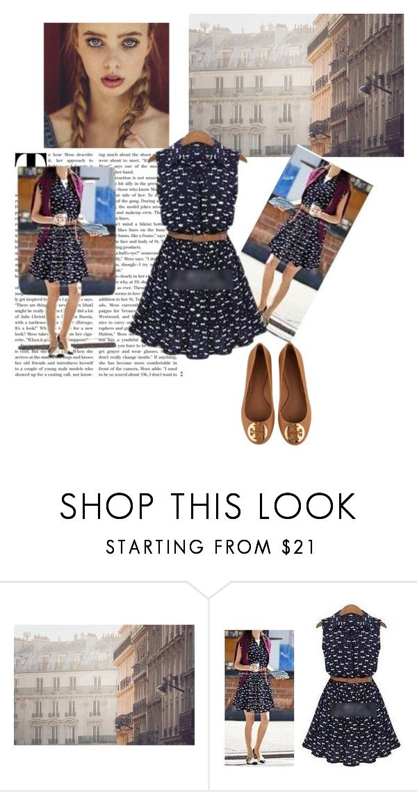 """""""Untitled #69"""" by little-girl24 ❤ liked on Polyvore featuring Arroba and Tory Burch"""