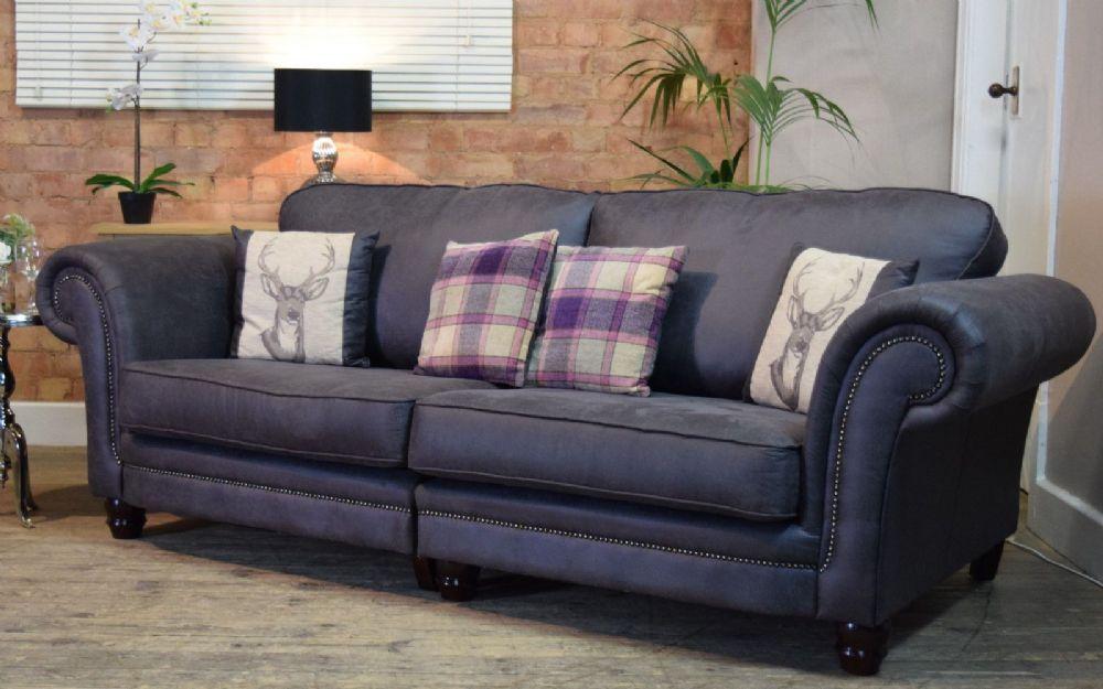 Abbey Downton 4 Seater Split Sofa