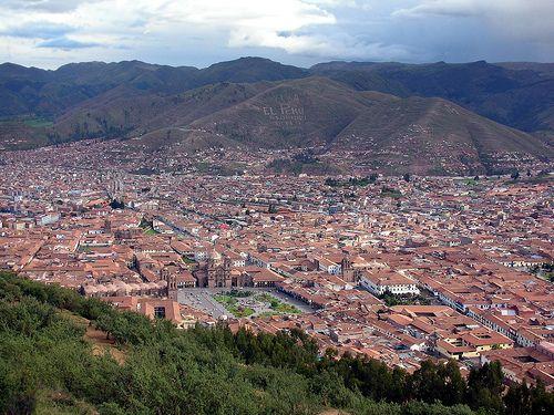 Panoramica de Cuzco, Peru by Cristina Bruseghini de Di Maggio, via Flickr