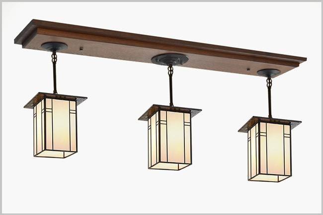3 Pendant Light 810 Craftsman Lighting Pendant Light Fixtures Craftsman Style Kitchen