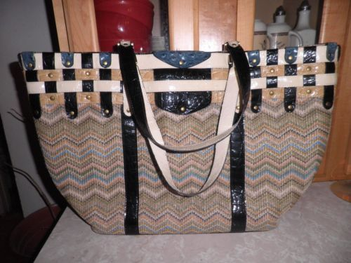 Huge Spencer Rutherford Australia Woven Bag