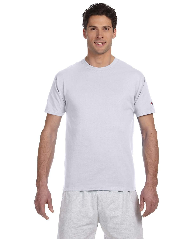 39045cbf Champion 6 oz. Short-Sleeve T-Shirt T525C ASH | Products | Mens ...