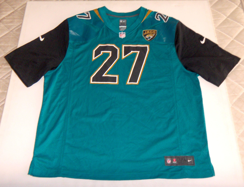 hot sale online 68e73 30e53 Fournette #27 Football Nike Jersey Jacksonville Jaguars Blue ...