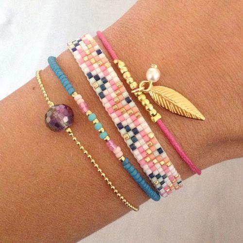 bracelet perle femme fantaisie
