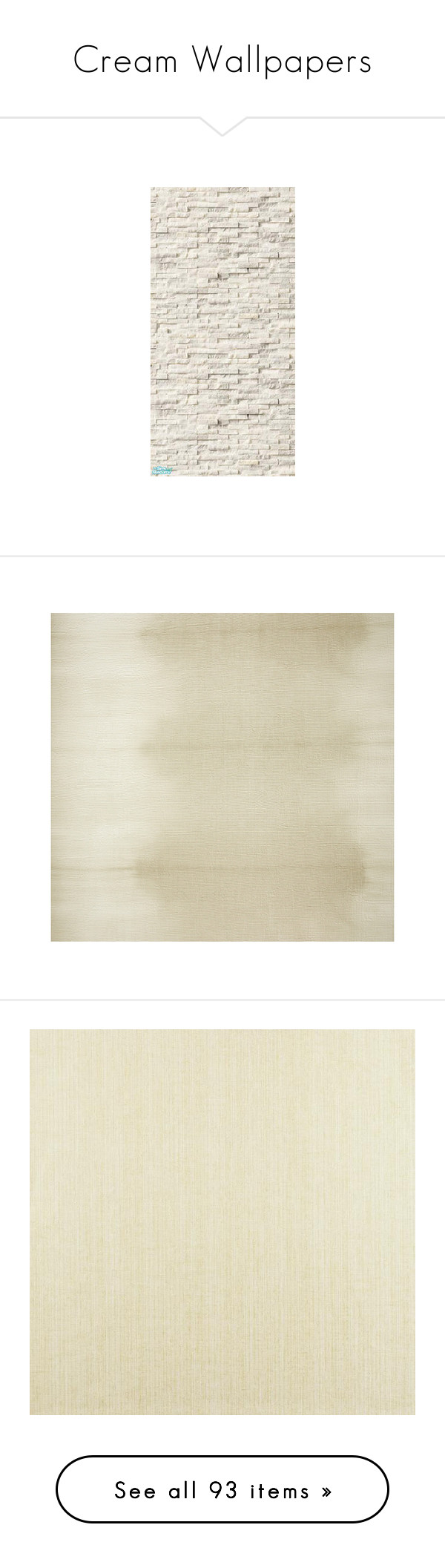 Cream Wallpapers By Lailoooo Liked On Polyvore Featuring