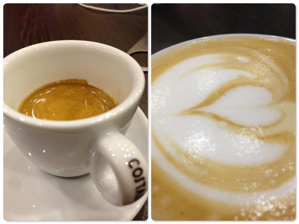 Espresso or cappuccino?