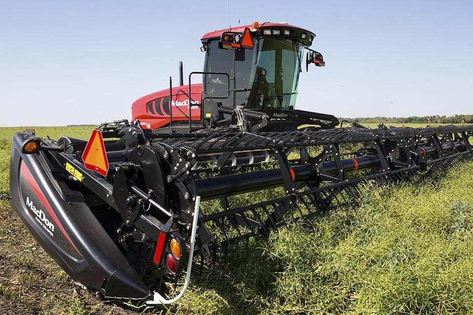 MacDon Canada, Canadian, Farming Equipment, Windrower