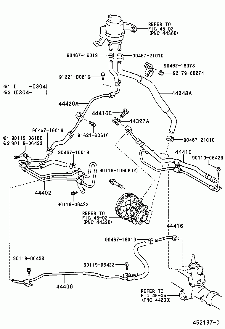 Toyota Estima Wiring Diagram T L Acr30w Mrssk Japan 022000 012006 Power