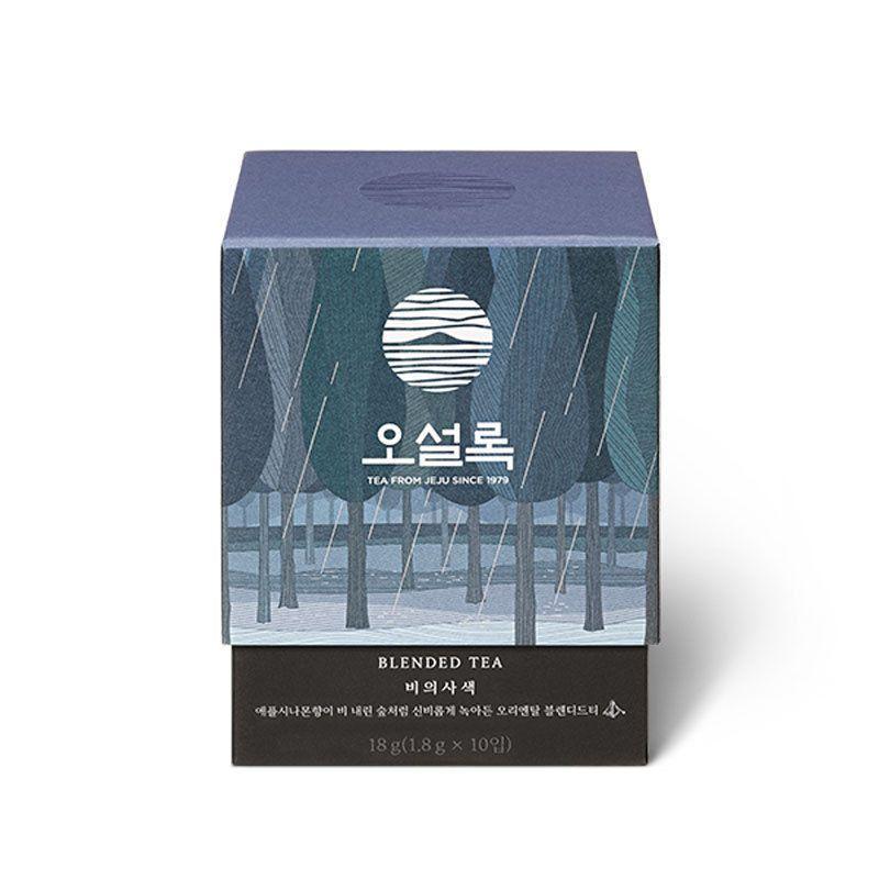 Osulloc Rainy Day Meditation 10 Teabags Fermented Tea With Apple Cinamon Osulloc Upakovka Sadovaya Girlyanda Girlyanda