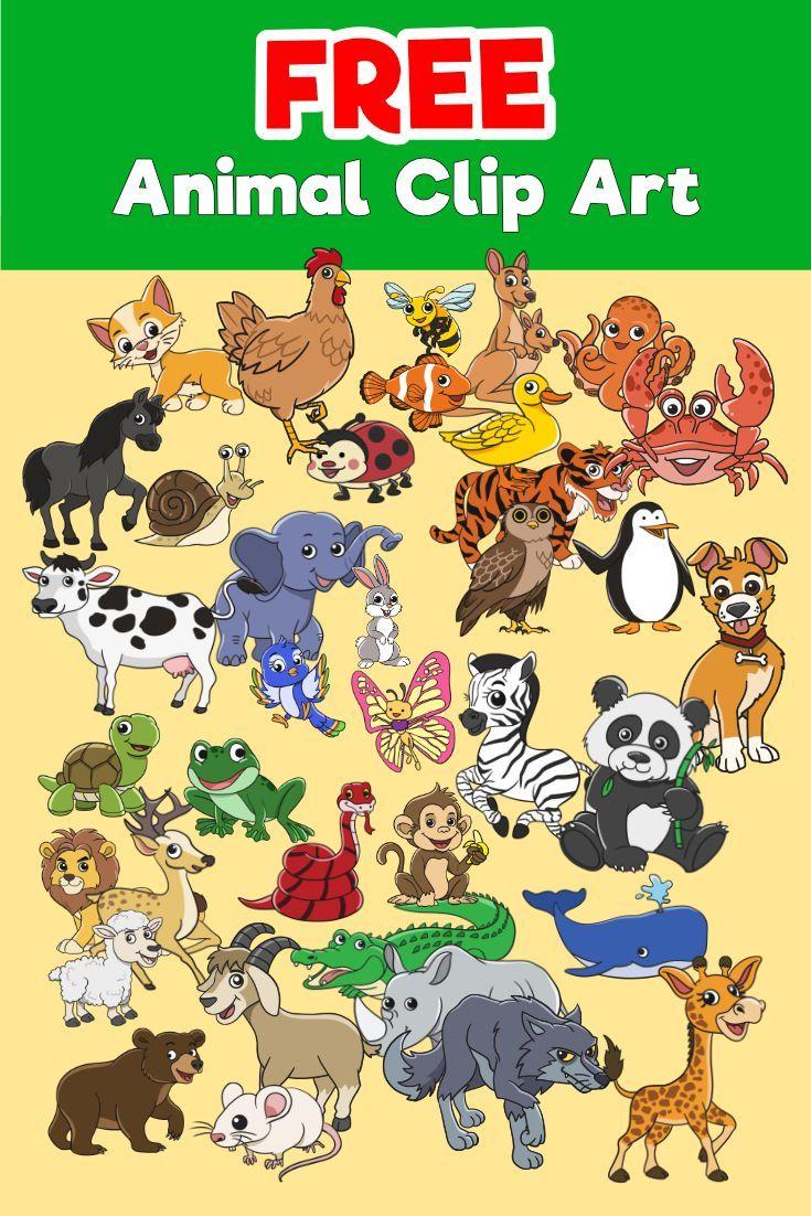 FREE Animal Clip Art - TQ colours