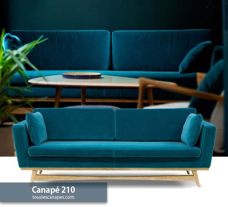 Canape Bleu 20 Modeles Pour Vous Inspirer Et Decorer Votre Salon Canape Bleu Canape Bleu Canard Canape