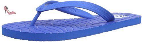 Reef Chipper, Tongs Homme - Bleu (Blue) 44 EU - Chaussures reef (