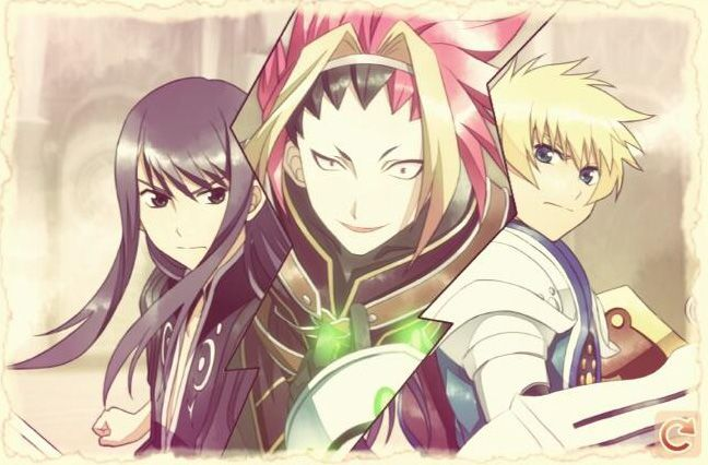 Tales of Bibliotheca Chapter. Yuri, Zagi and Flynn