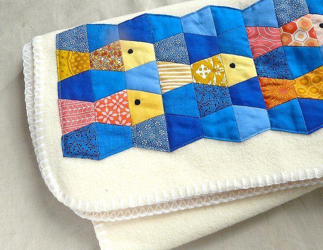 Download Tumbler Fish Quilt Sewing Pattern (FREE) | Go! Baby ...
