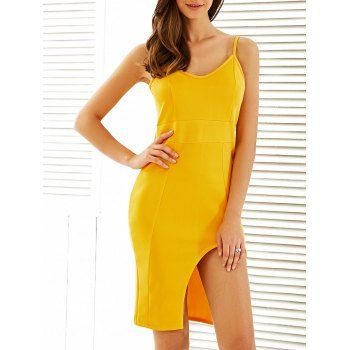 Strap Cut Dress Cheap Casual Style Online Free Shipping at DressLily.com