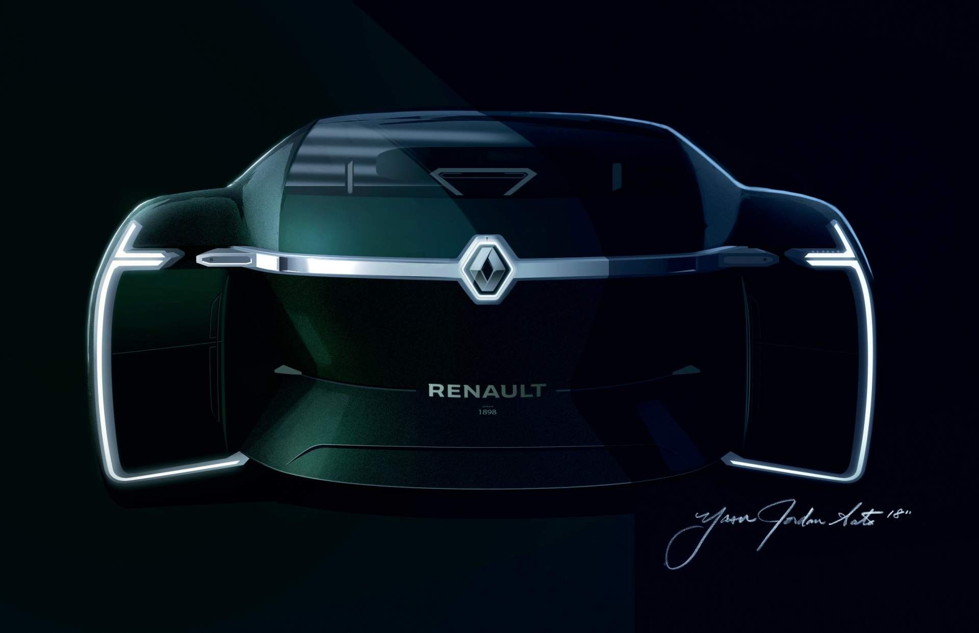 Renault Ez Ultimo Concept Envisions Self Driving Luxury Lounge Hot