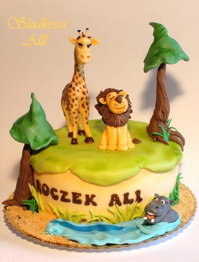 15 Creative Birthday Cakes For Kids Safari Cakes Creative