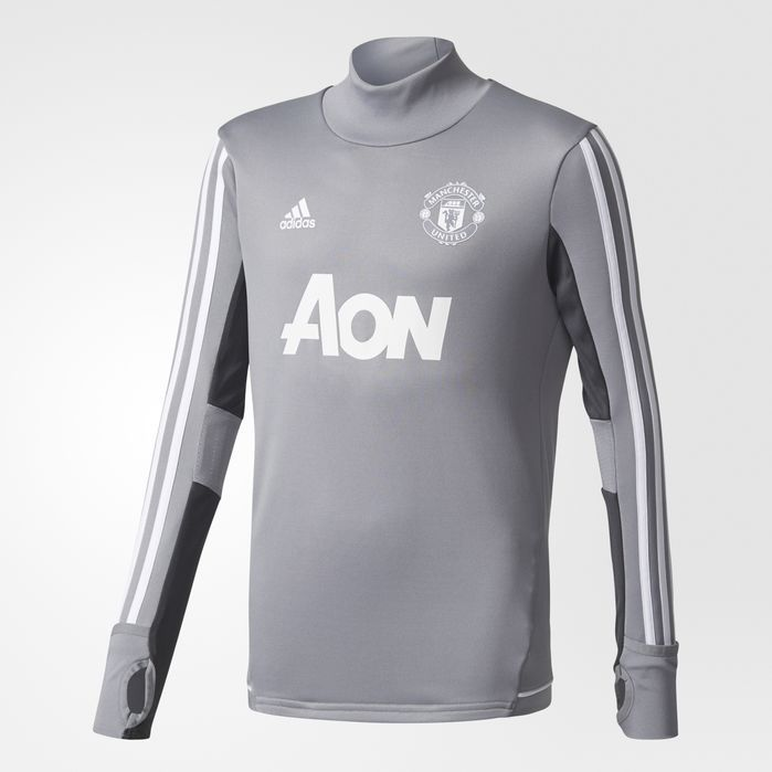 a7fca0eaf adidas Manchester United Training Top - Kids Soccer Long Sleeve Shirts