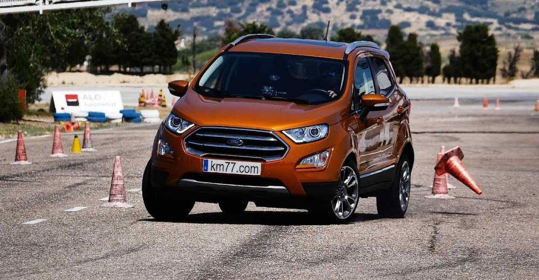 Video 2018 Ford Ecosport Geyik Testi In 2020 Ford Ecosport