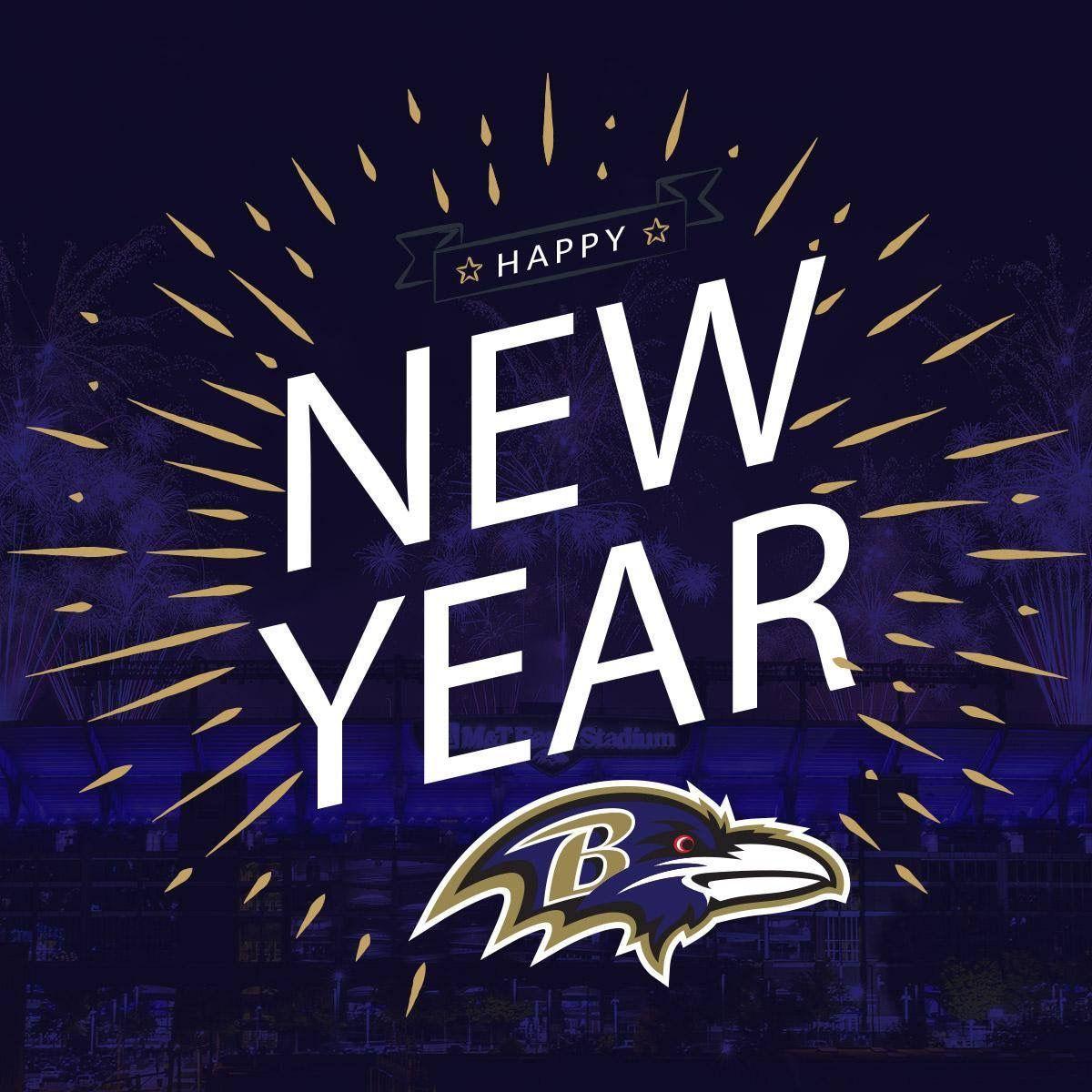 Ravens Baltimore ravens, Happy new year, Happy
