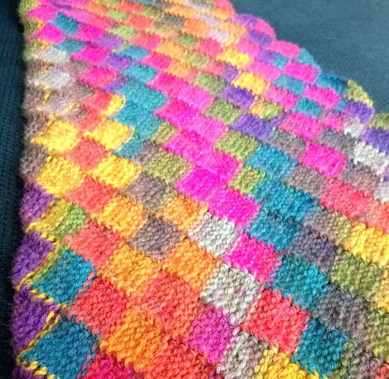Sjaal In Tunische Entrelac Crochet Afghans Pinterest Crochet