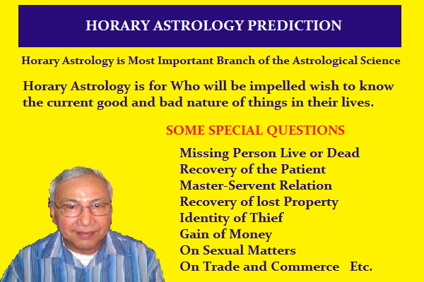 do HORARY astrology prediction by kpastrologer