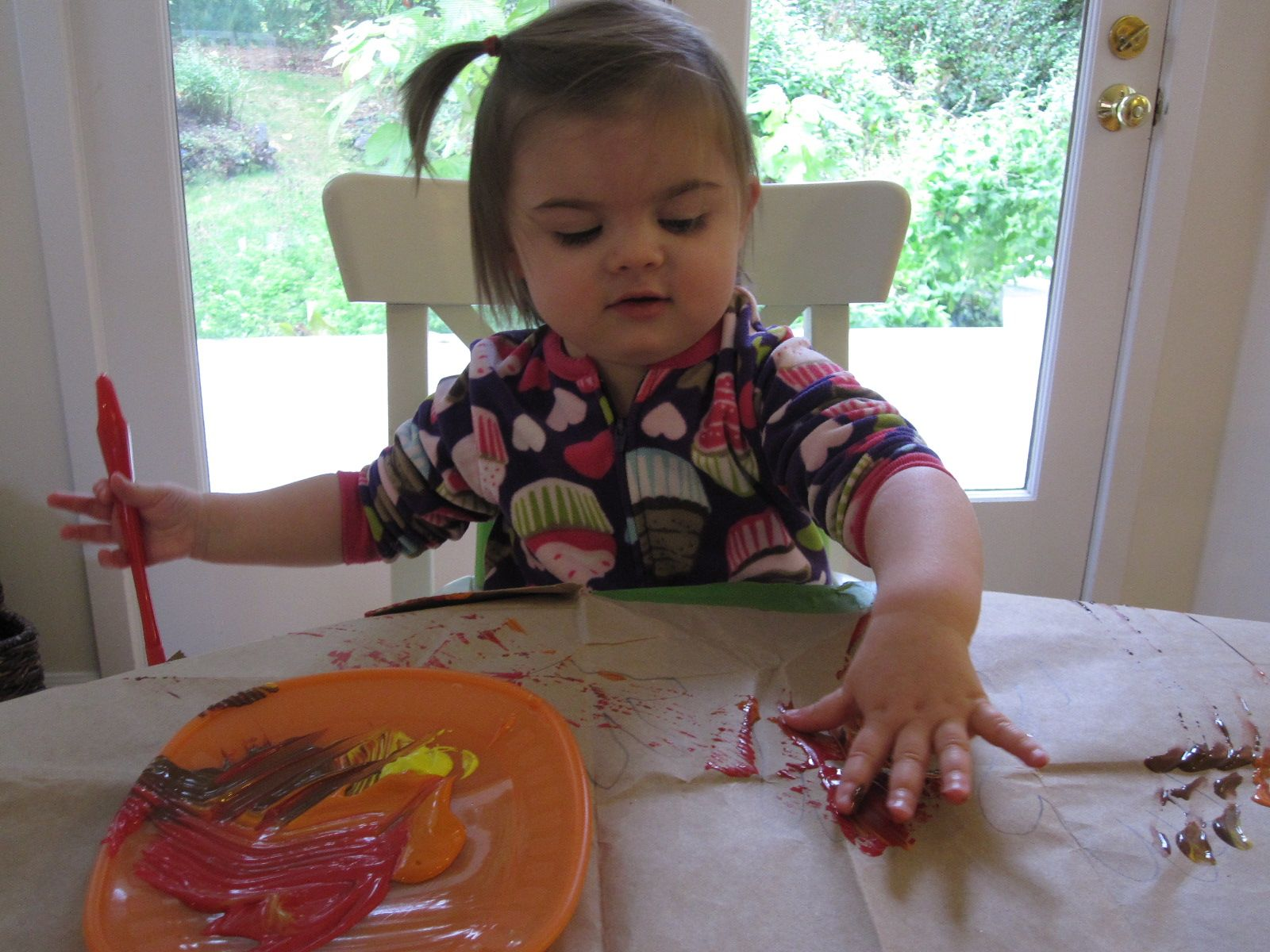 Handprint Turkey Craft for Toddlers #handprintturkey