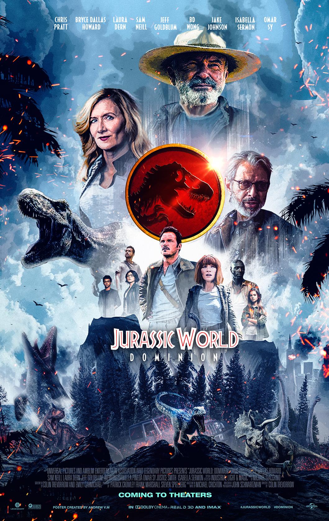 Jurassic World: Dominion. Se estrenará en 2022