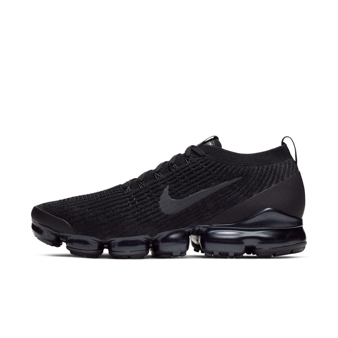Nike Air VaporMax Flyknit 3 Men's Shoe (Black) | Look