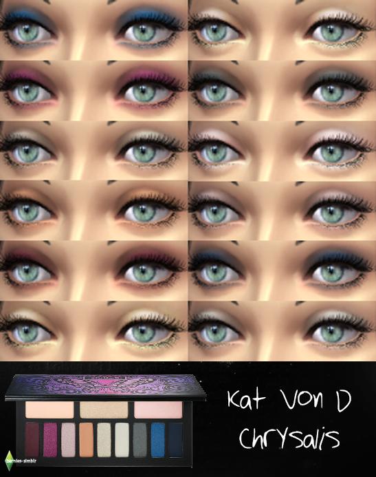 kat von d chrysalis eyeshadow palette for ts4 standalone. Black Bedroom Furniture Sets. Home Design Ideas