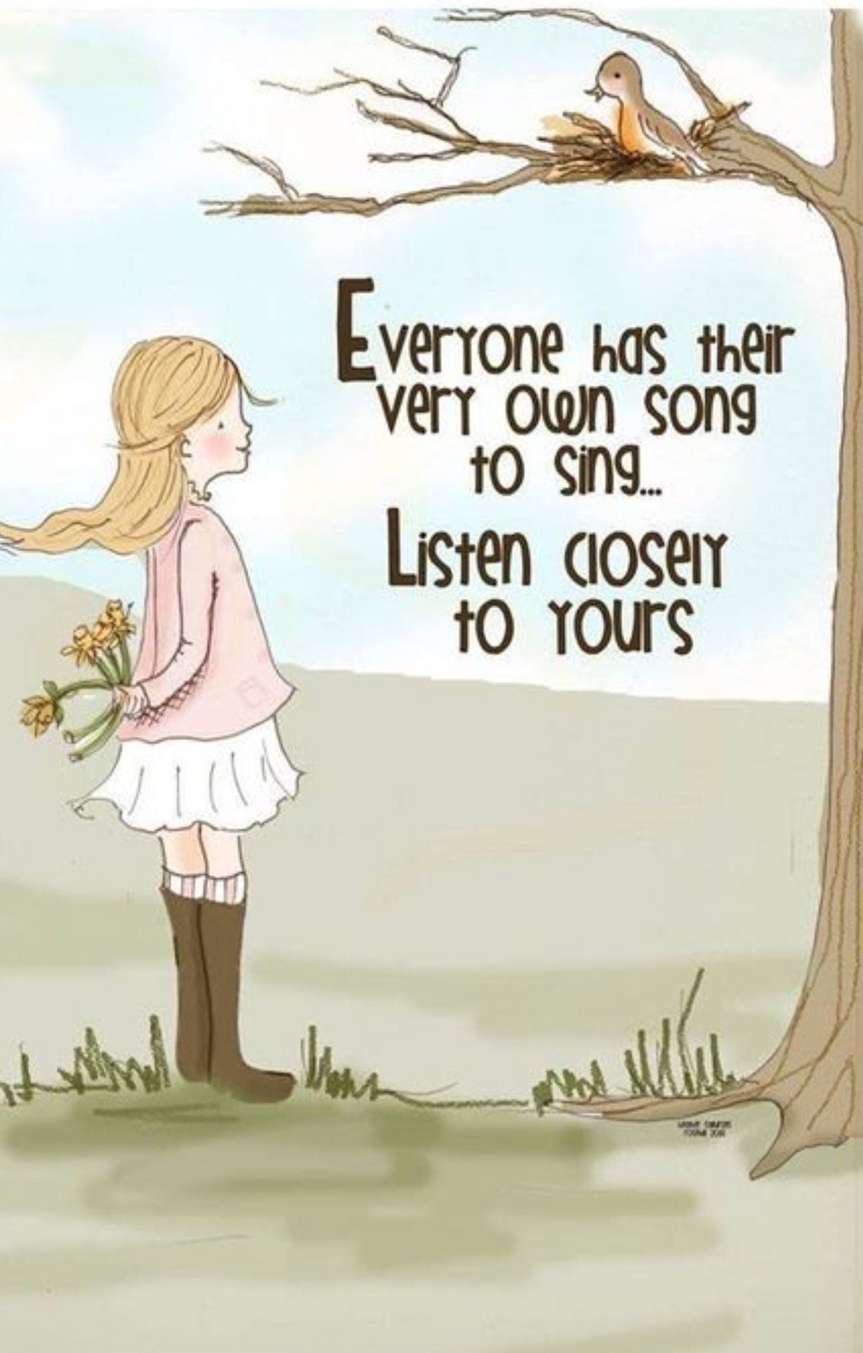 Your Own Song To Sing