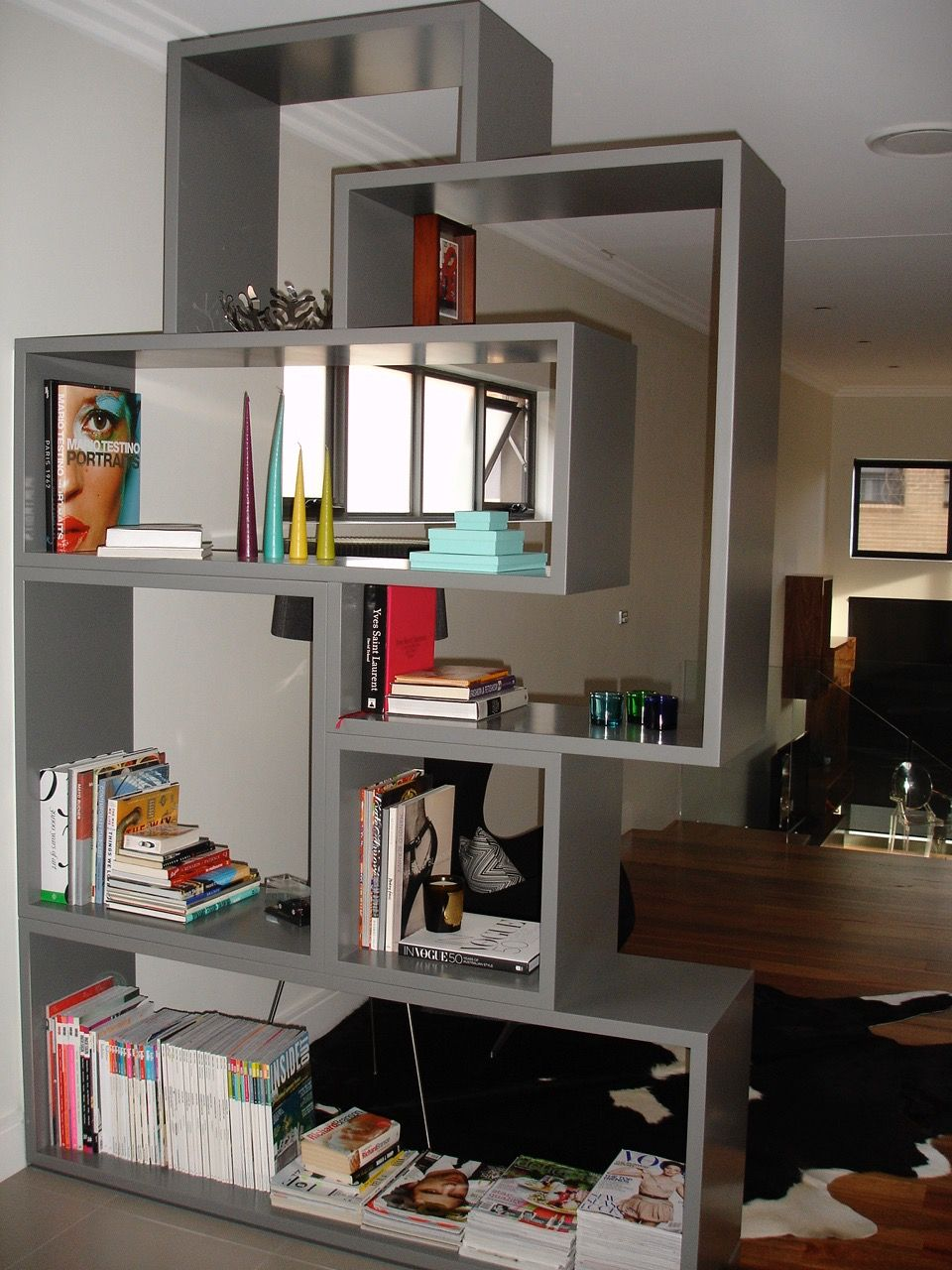 Display Cabinet Custom Designed And Manufactured Shelving