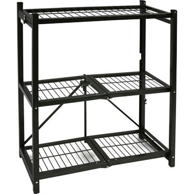 Origami Folding Shelf 10 Deep 50 Steel Storage Rack Steel Shelving Steel Shelving Unit