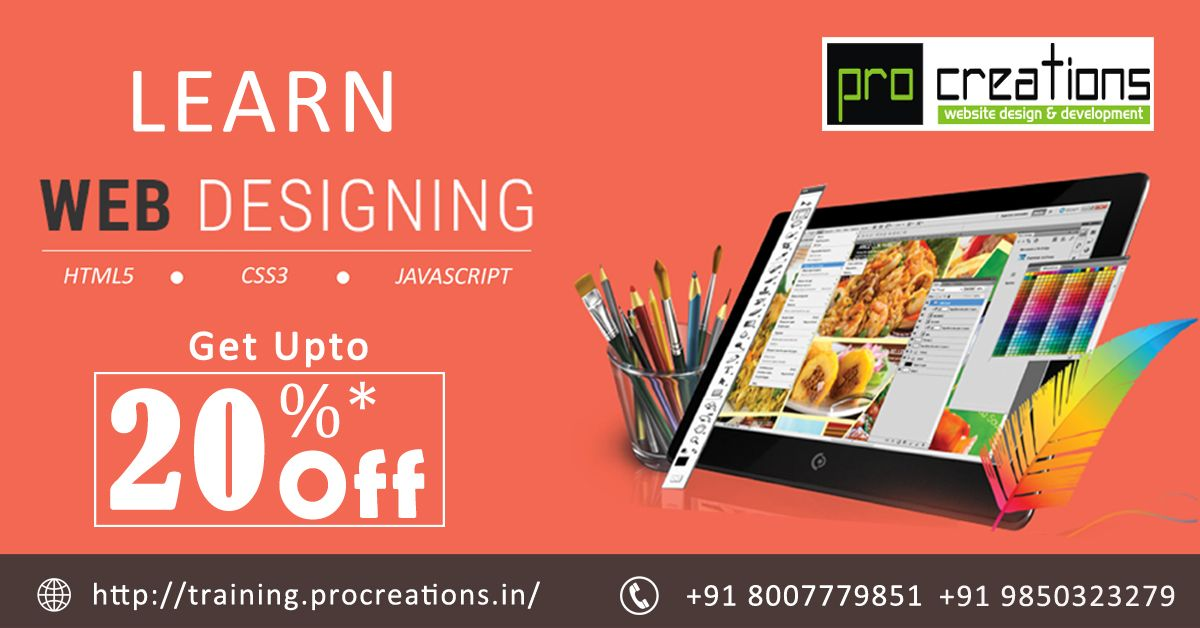 Learn Web Designing Courses Nagpur Live Project Training Offer Best Syllabus Web Design Training Web Design Course Website Design Courses