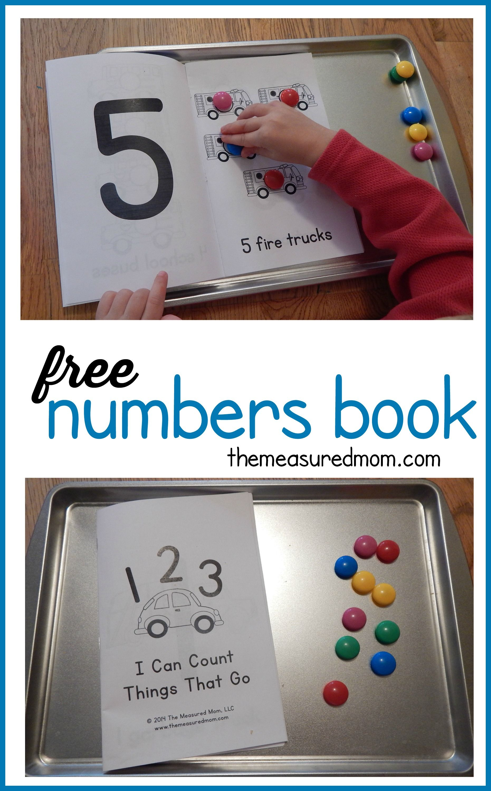 This Free Counting Book Is Perfect To Use Alongside A Transportation Theme In Preschool