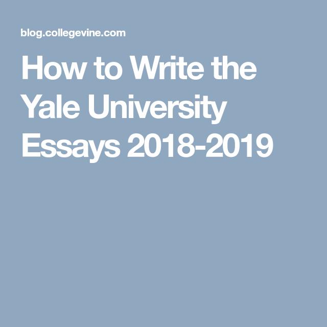 Custom admission essay yale