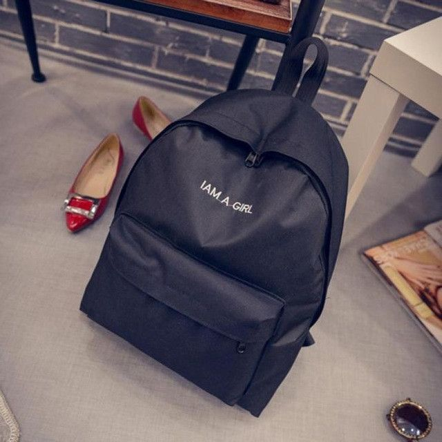 d41b07e501 Xiniu Unisex Backpack Women Canvas Rucksack Girls Boys School Book Shoulder  Bag women s backpack  YLEL