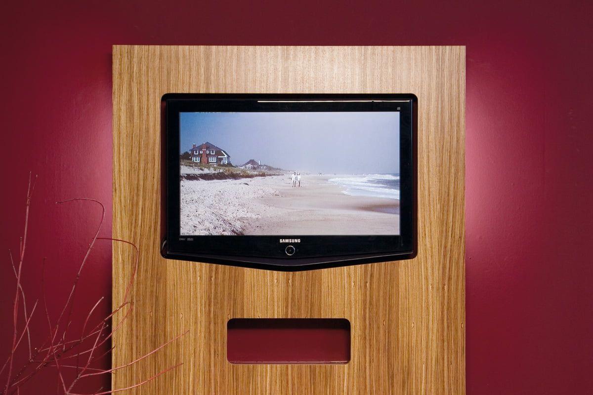 Fernseher Wand Selber Bauen
