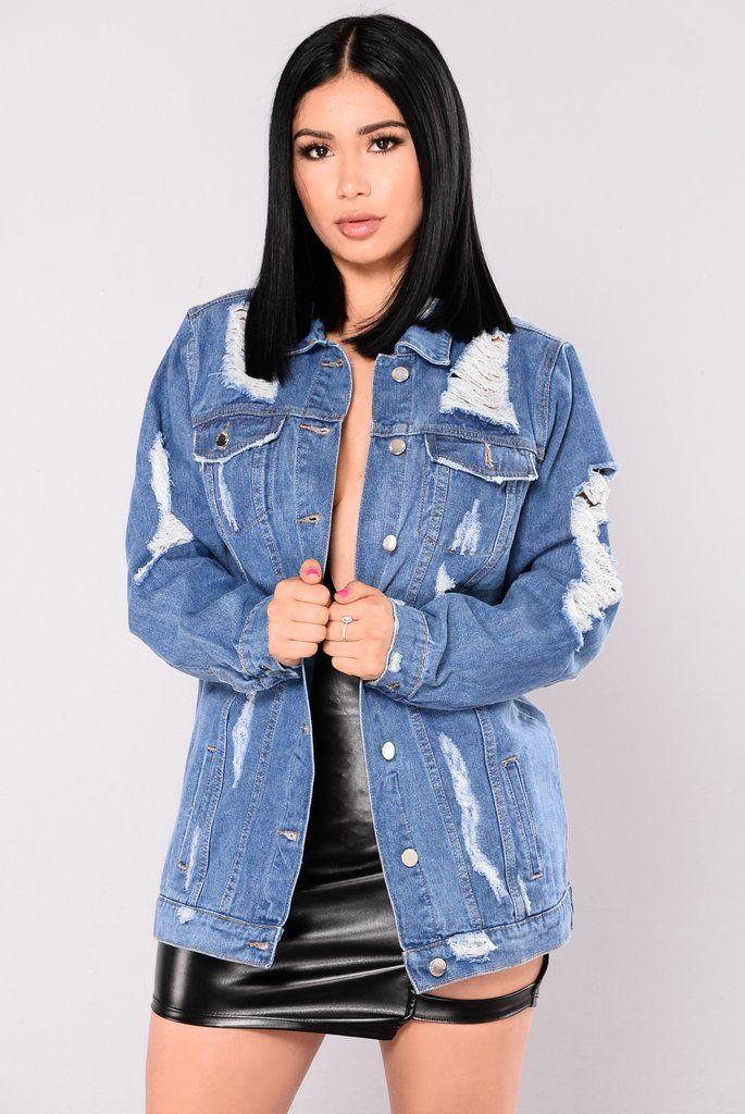 So Me Denim Jacket Medium Denim Jacket Denim Jacket Women Fashion Nova Outfits