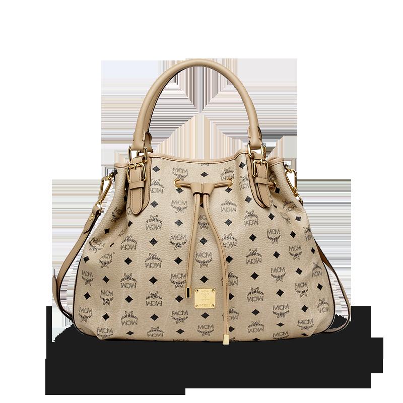 MCM Vintage Visetos (draw shopper medium) | Mcm handbags