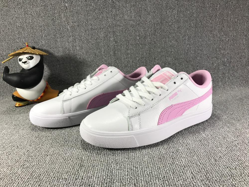 The new PUMA X BTS COURT STAR Korea woman Cadet shoes pink ...