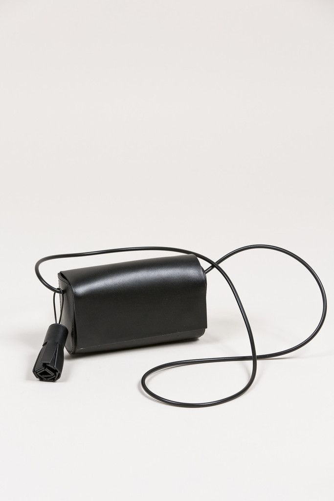 Petite Crossbody, Black by Building Block #kickpleat #buildingblock